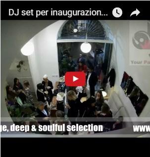 musica dj set inaugurazione store