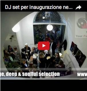 dj inaugurazioni eventi