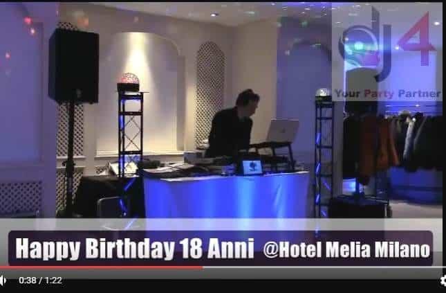 festa diciottesimo dj musica