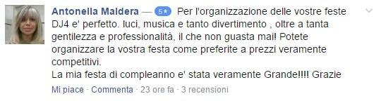 DJ COMPLEANNO FESTA