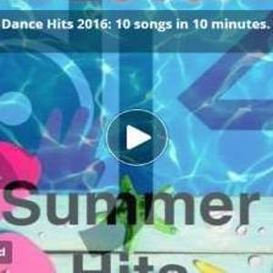 canzoni estate 2016