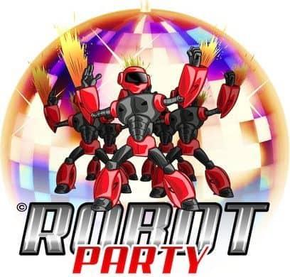 robot party feste a tema milano dj