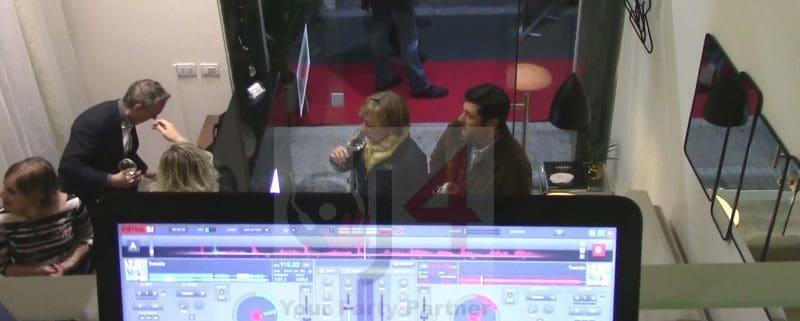 dj deejay inaugurazione milano