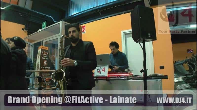 dj inaugurazione musica