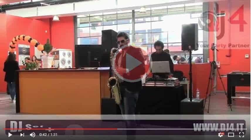 dj inaugurazione negozi attività palestre